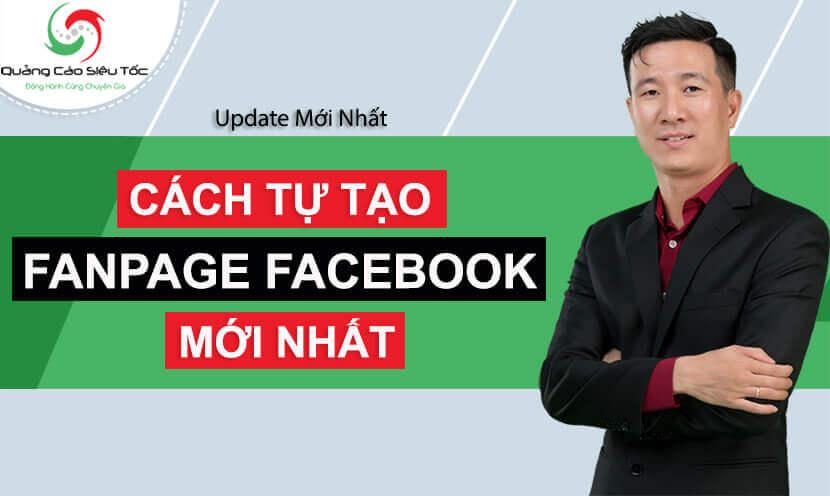 Cách tự tạo trang Fanpage Facebook