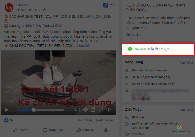 Tạo tính năng trả lời tin nhắn tích cực trên Fanpage