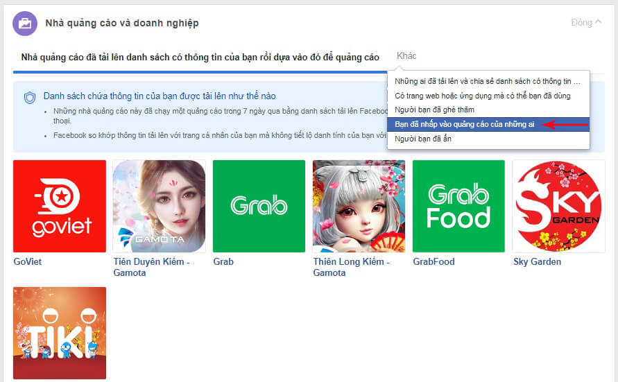 chặn quảng cáo trên facebook google chrome