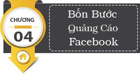Bốn bước chạy quảng cáo Facebook