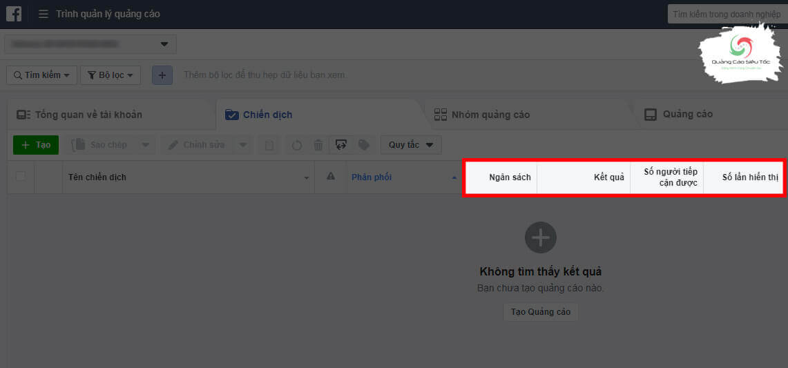 Các chỉ số cần lưu ý khi chạy quảng cáo Facebook