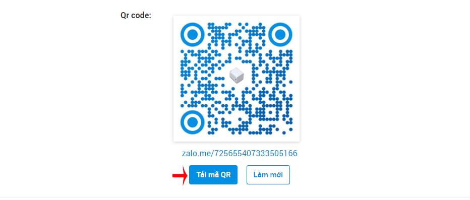 chia sẻ QR code zalo page