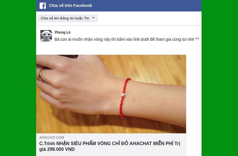 chia sẻ chatbot viral
