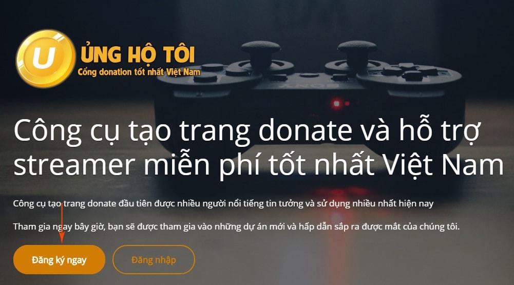 đăng ký cổng donate unghotoi