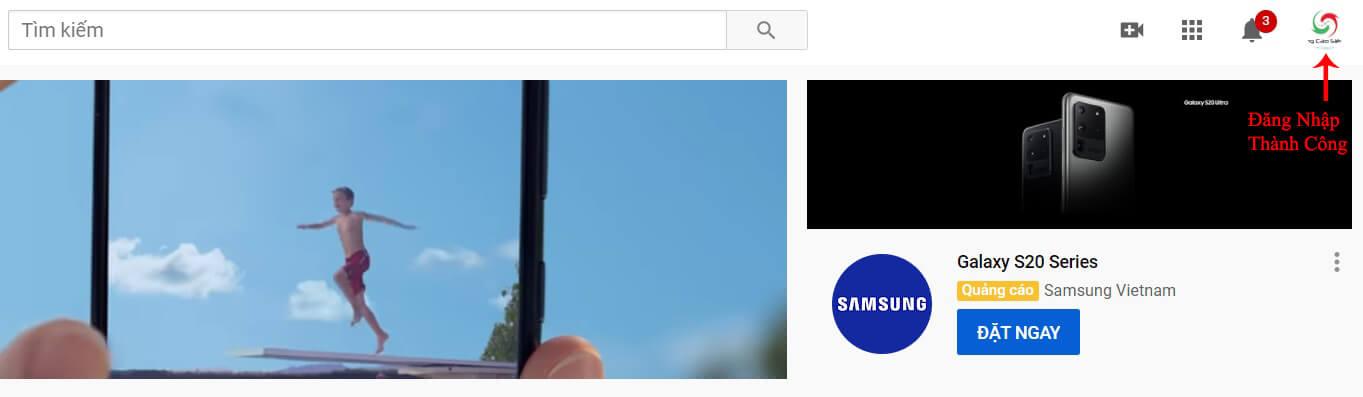 đăng ký youtube