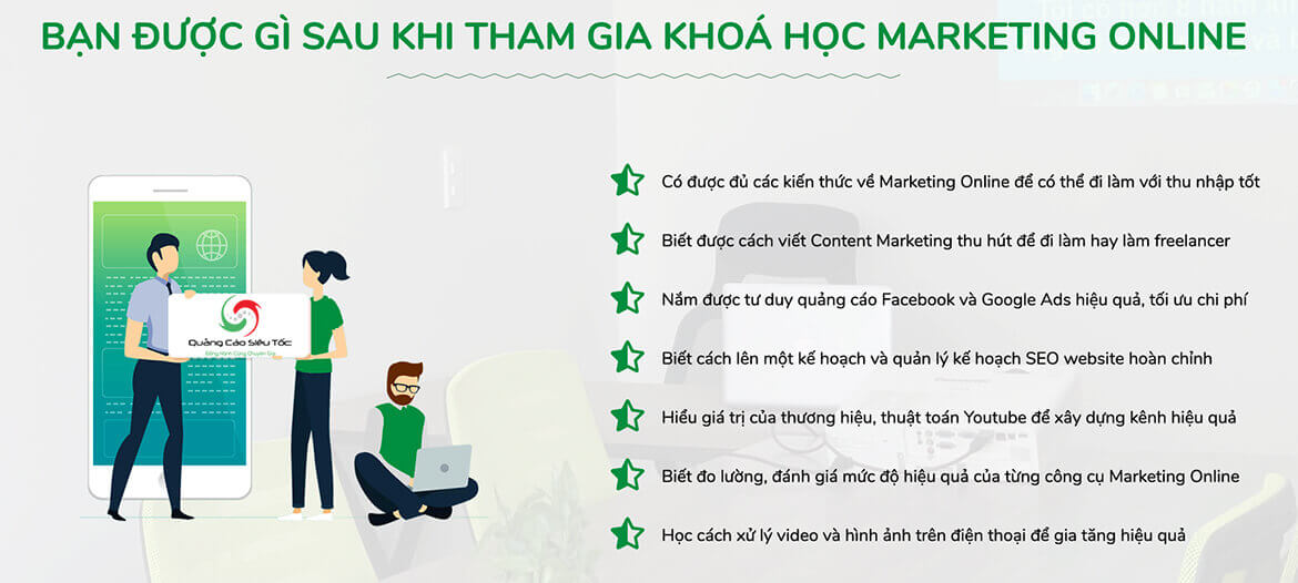 đào tạo digital marketing