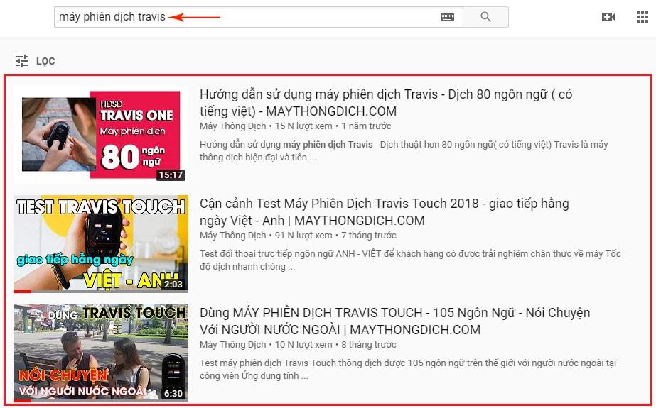 dịch vụ seo video lên top youtube