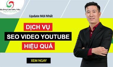 dịch vụ seo youtube