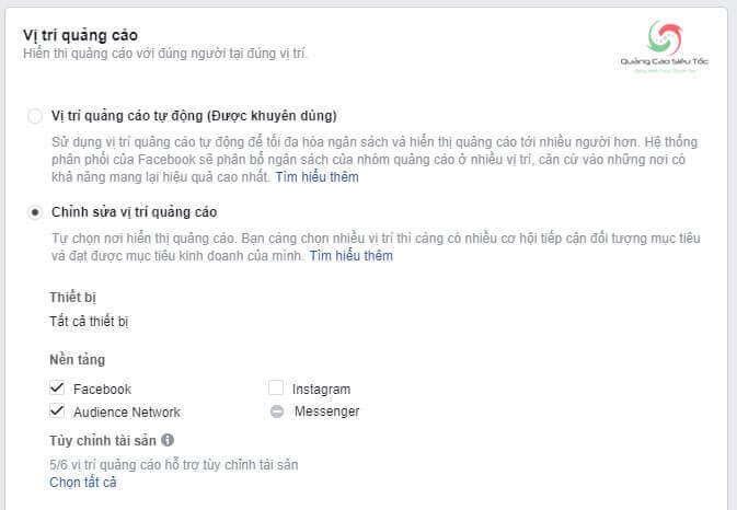 Tắt quảng cáo Facebook trên Instagram