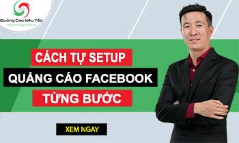Banner cách tự chạy quảng cáo Facebook