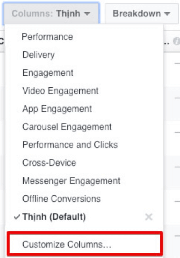 mở báo cáo pixel facebook