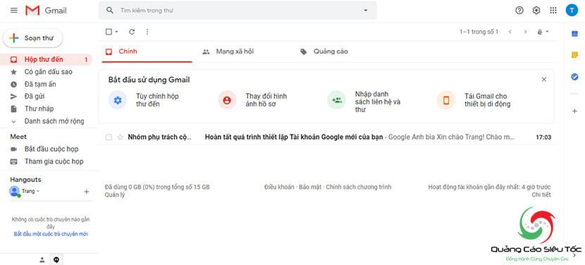 tạo gmail miễn phí