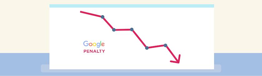 google pennalty giảm traffic