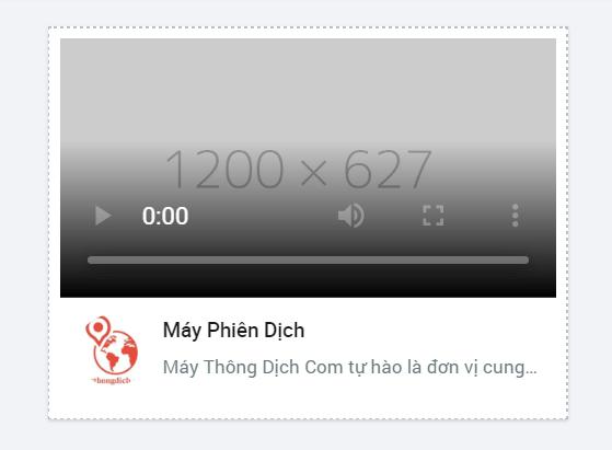 hình thức quảng cáo video trên zalo