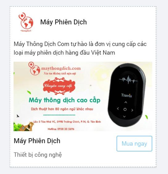 hình thức quảng cáo website trên zalo
