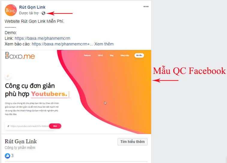 học cách quảng cáo trên facebook