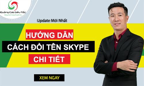 đổi tên skype
