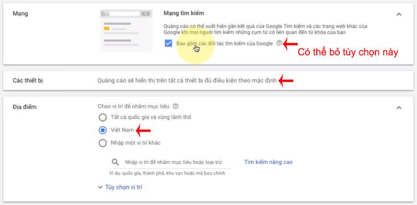 hướng dẫn chạy google shopping