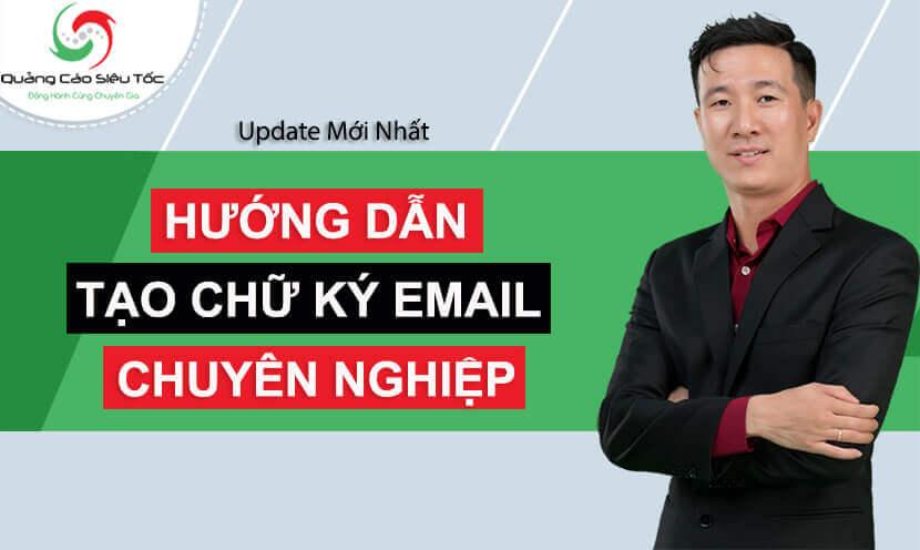 chữ ký email mẫu