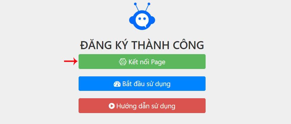 kết nối page fchat