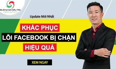 lỗi facebook bị chặn