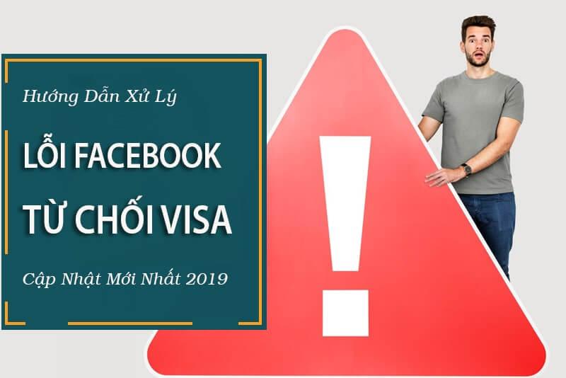 Xử lý lỗi phương thức thanh toán Facebook bị từ chối