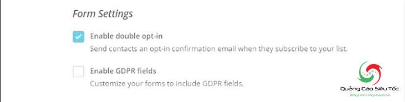 tài khoản mailchimp