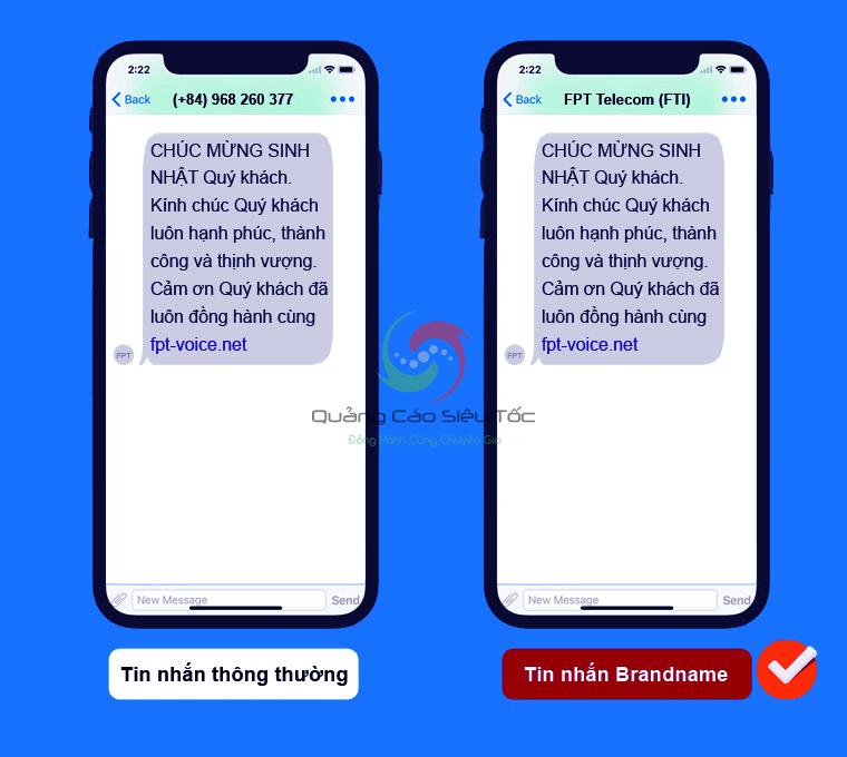 mẫu tin nhắn chào hàng