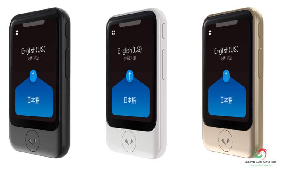 Pocketalk S có nhiều thay đổi về thiết kế so với bản cũ