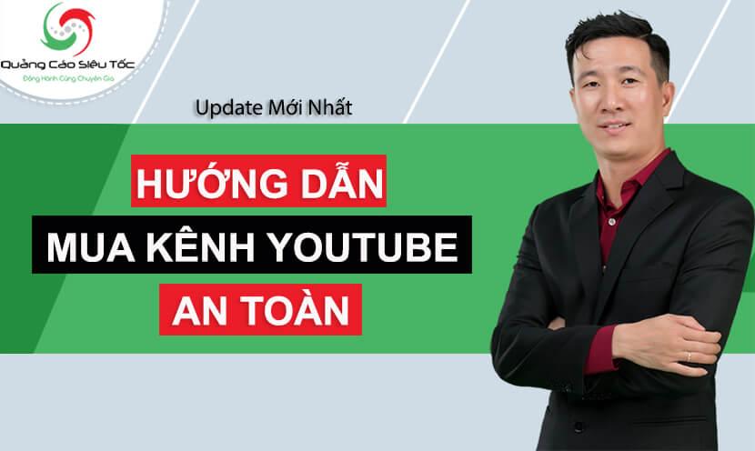 mua kênh youtube