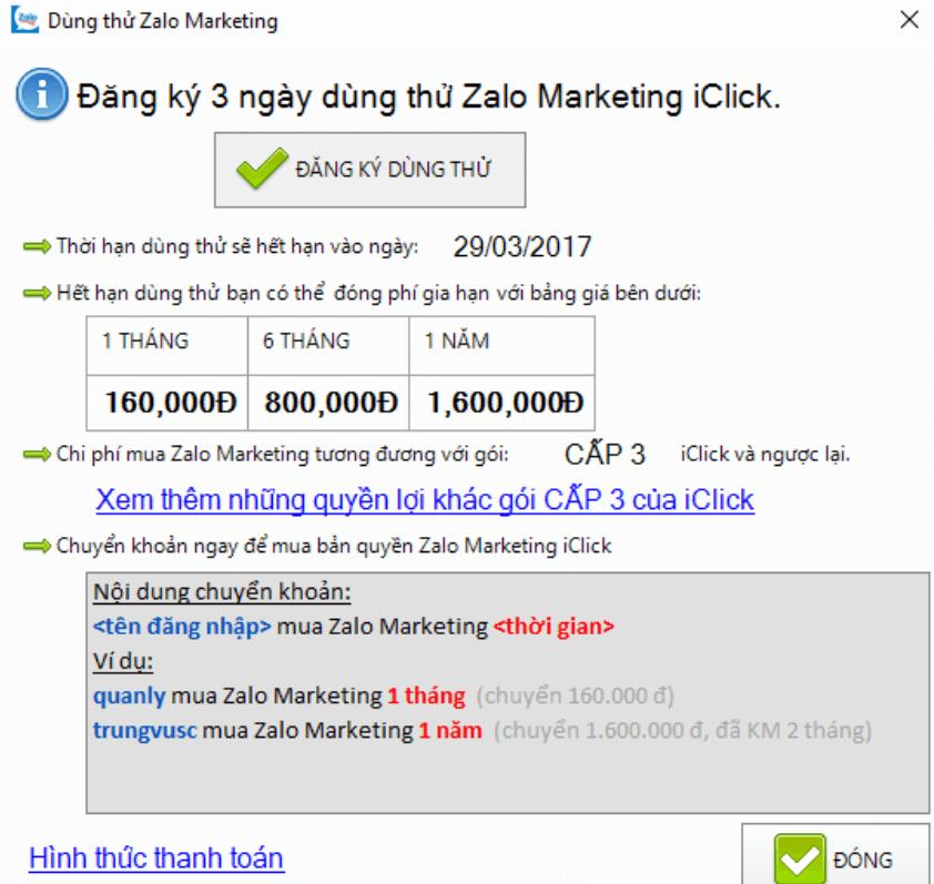 mua phần mềm quảng cáo zalo marketing