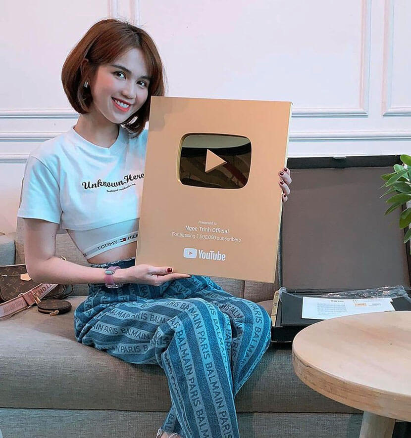 nút vàng youtube là gì