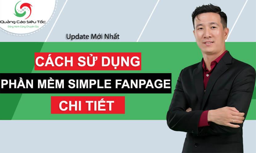 phần mềm simple fanpage