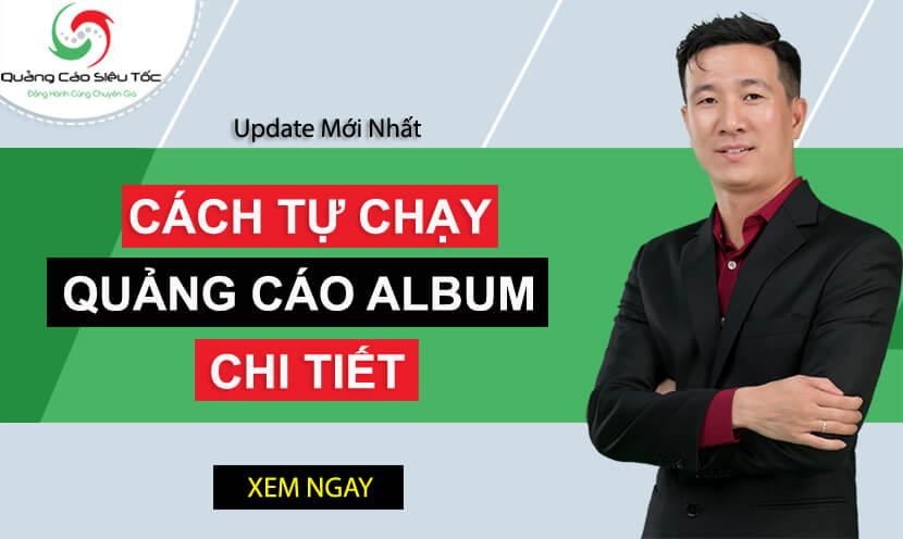 quảng cáo album facebook