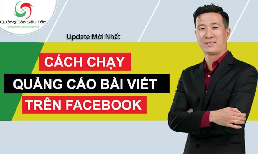 Hướng dẫn cách quảng cáo bài viết trên Facebook