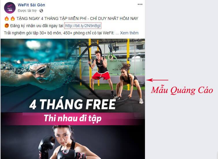 quảng cáo sản phẩm trên facebook