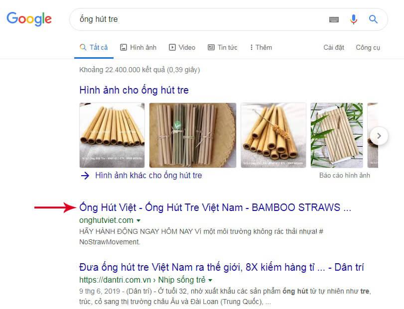 quảng cáo sản phẩm trên google