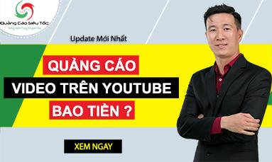 quảng cáo trên youtube bao nhiêu tiền