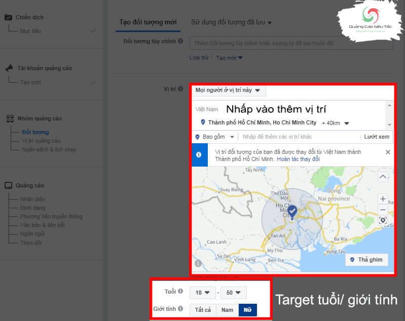 Target đối tượng quảng cáo video trên Facebook