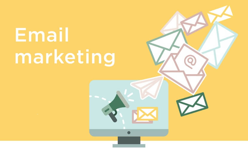 quảng cáo website bằng email marketing