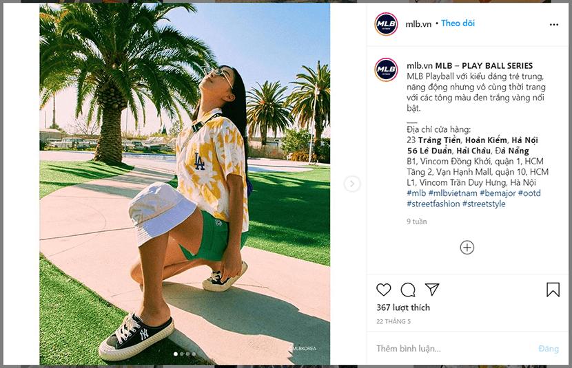 sản phẩm instagram marketing