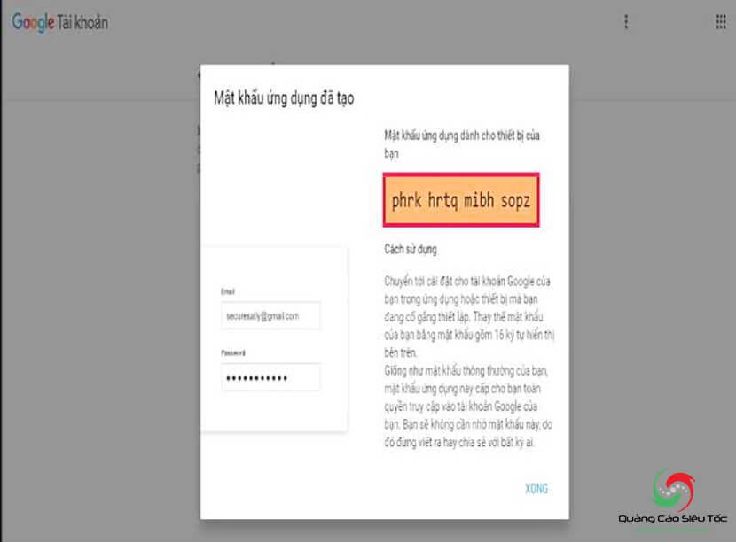 cấu hình smtp để gửi gmail