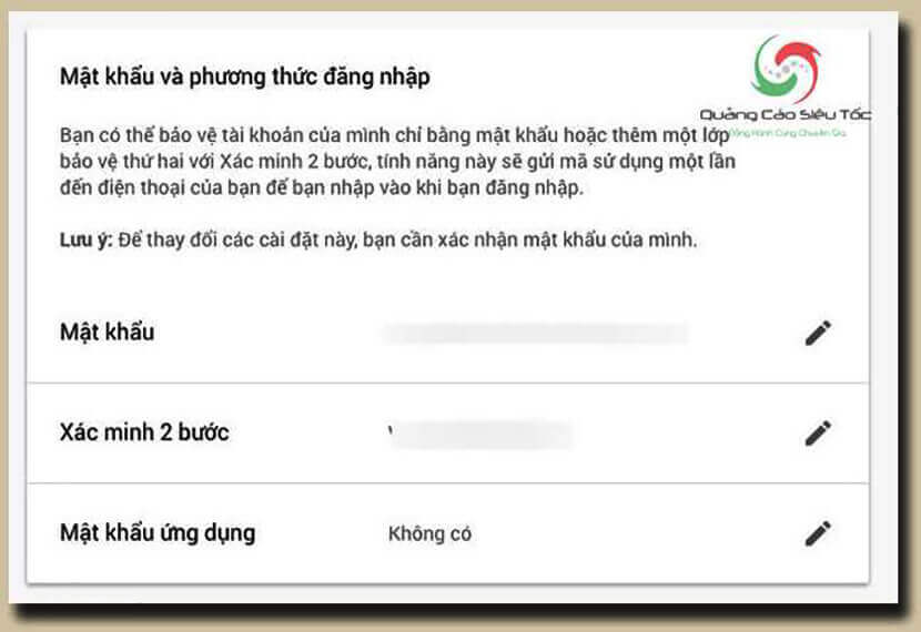 thiết lập smtp gmail