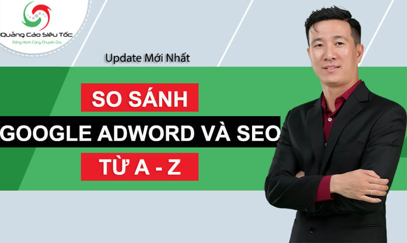 so sánh seo và google adowrds