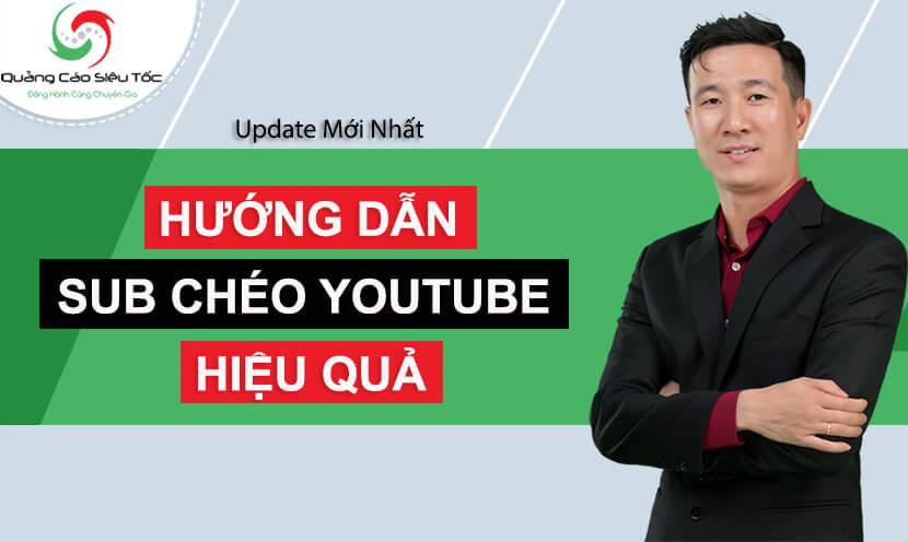 sub chéo youtube