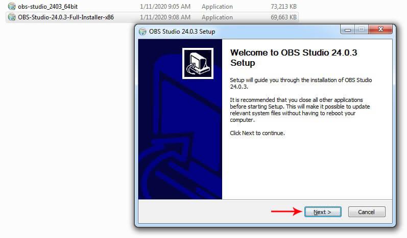 tải phần mềm obs