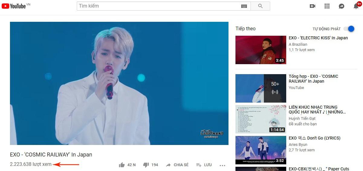 tại sao view youtube bị giảm