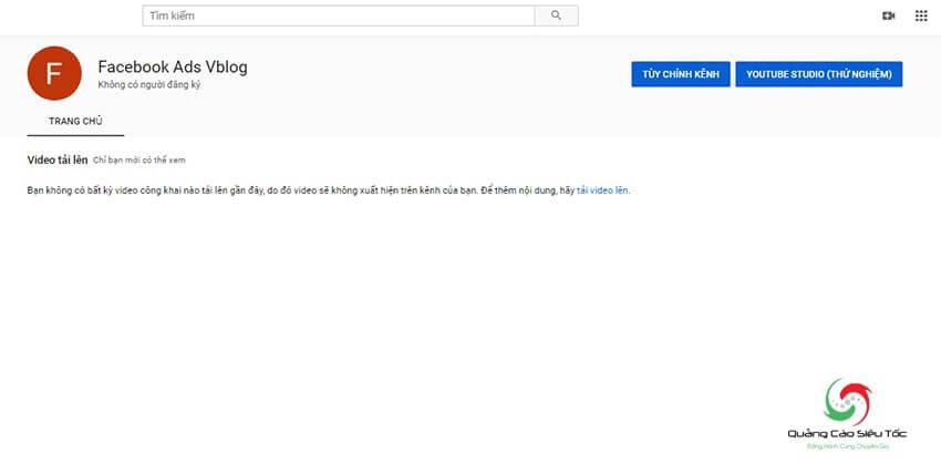 Cách tạo kênh Youtube thương hiệu đơn giản nhất