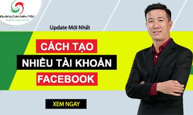 tạo nhiều facebook cùng lúc