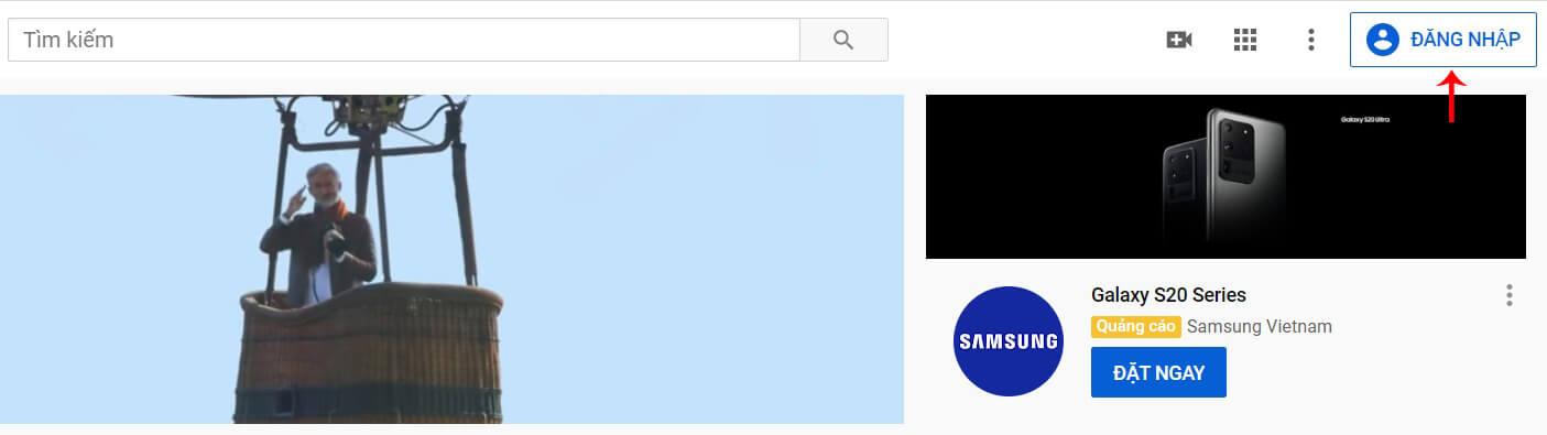tạo youtube